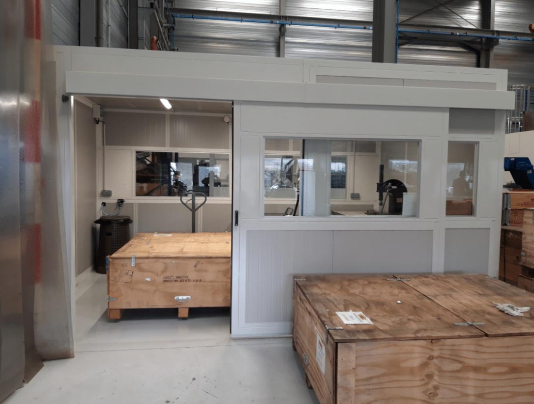 Cabine acoustique industrielle
