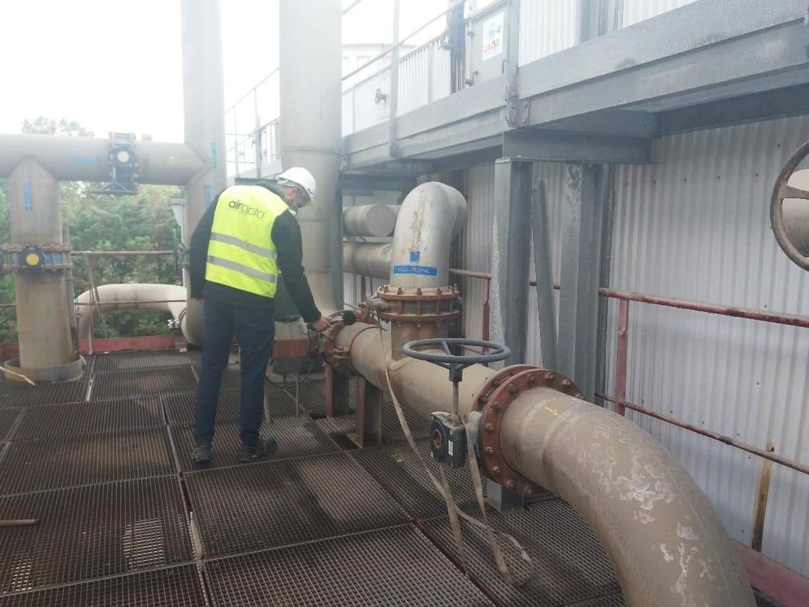 contrôle de conformité règlementaire sur un site sidérurgique