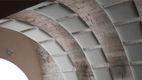 Des arches acoustiques de la gamme OREA