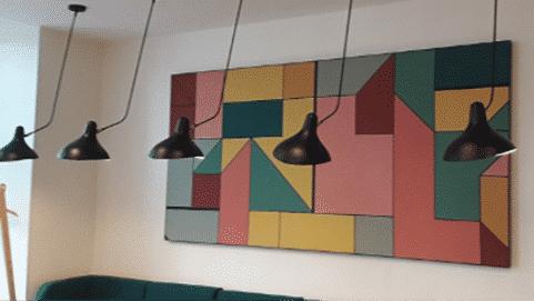 Tableau acoustique mural avec impression numérique, gamme CAPTEA